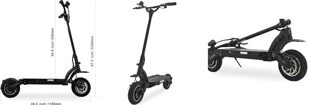 Dualtron II S is a fast electric scooter for climbing hills