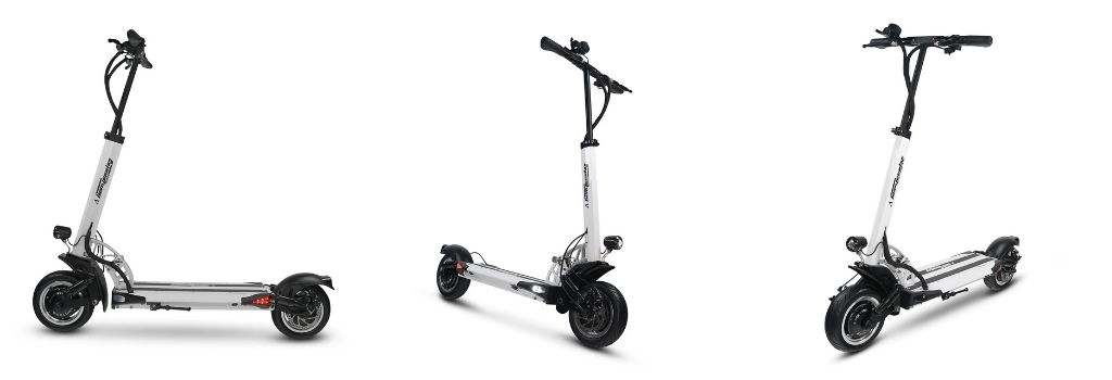 Speedway 5 is not only best hill climbing scooter but also has agreat long range