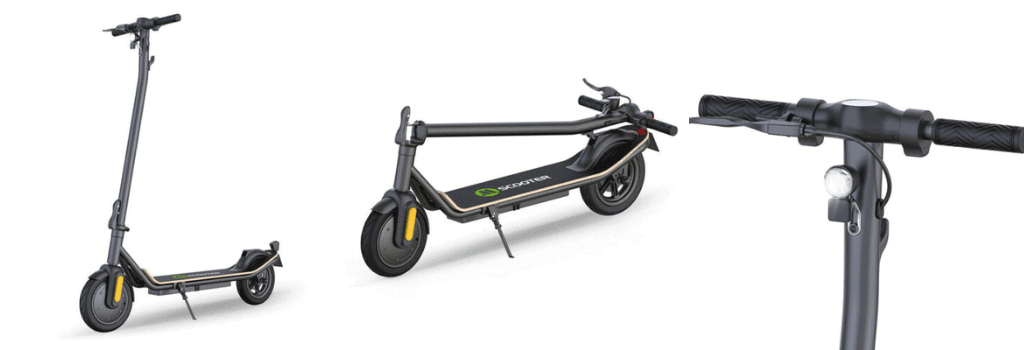 Megawheels S11X: Stylish and sturdy electric scooter