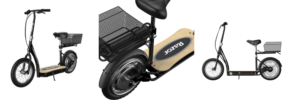 Razor EcoSmart Metro HD - Seated Electric Scooter