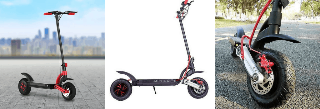 IMoving Junior: High weight capacity electric scooter