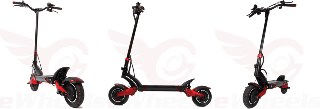 Turbowheel Lightning+: Extremely safe electric scooter
