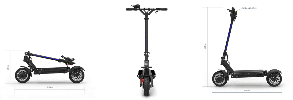 Dualtron III is another great scooter for climbing hills.