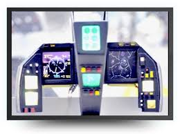 Image for LCD display cockpit