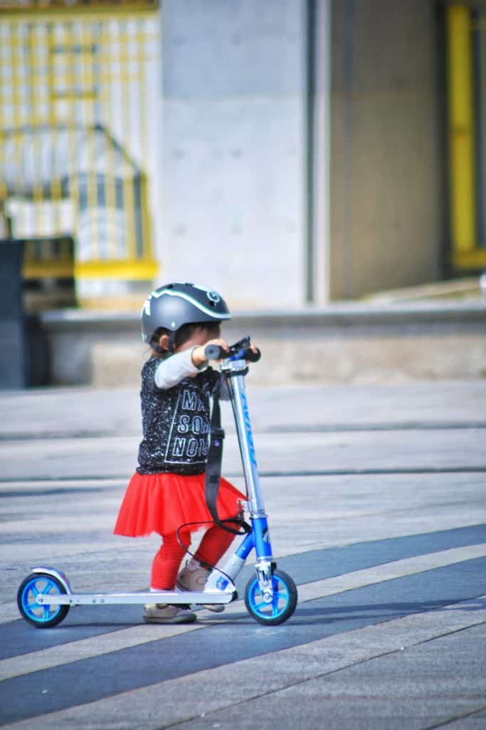 Teach them how to ride properly