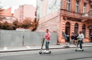 Electric Scooter VS Bike