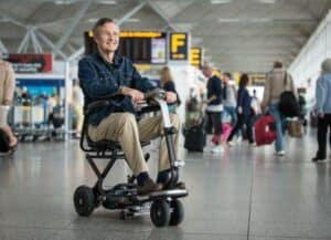 Can I take my mobility scooters in a plane?