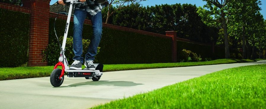 Performance of Razor e200 electric scooter.