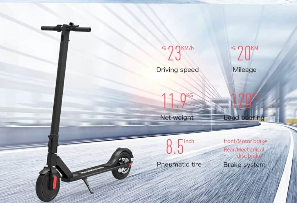 Performance of Megawheels s5 electric scooter.