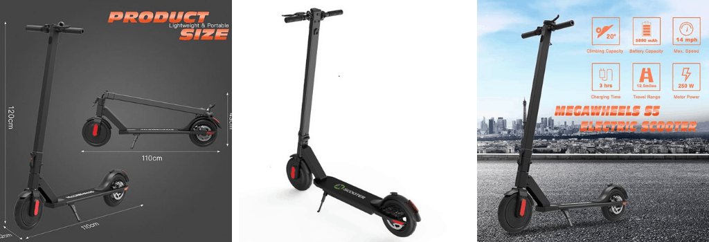 Megawheels s5 Electric Scooter Review