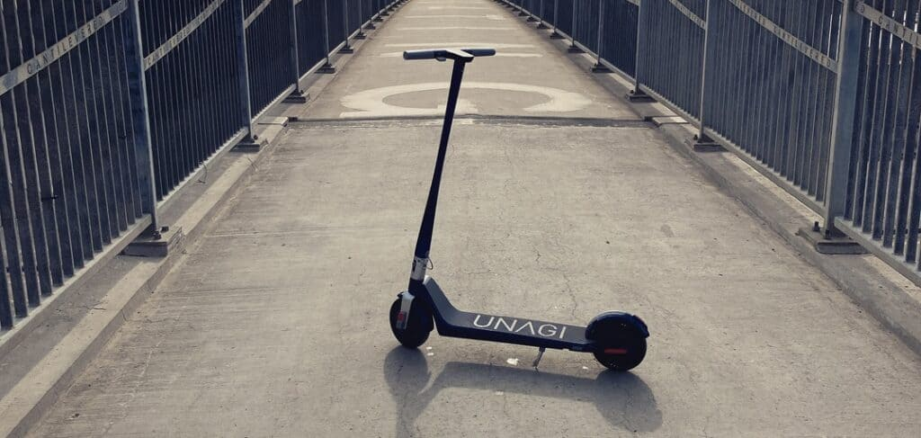 Features of Unagi model one electric scooter